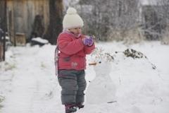 Снеговик!
